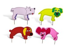 Junior Croquet Set - Dog Theme, 2 Mallets