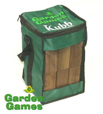 Garden Games Kubb - Beech wood with canvas bag