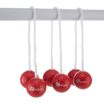 Spare Bolas for Uber Ladder Golf (set of 3 - red)