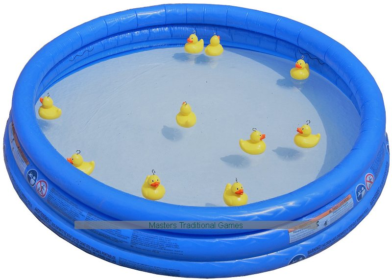 Hook A Duck Game Duck Pond Fair Game With Weighted Ducks