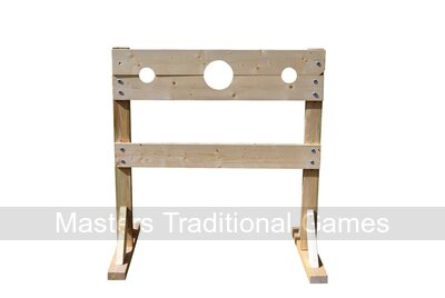 Medieval Wooden Stocks - 125cm, unstained