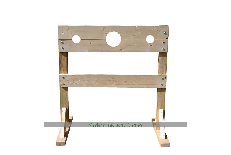 Medieval Wooden Stocks - Heavy Duty Stocks For Fairs & Fetes