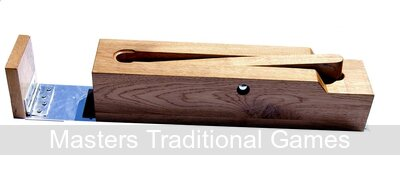 Hand-made solid Oak League standard Trap for Bat and Trap