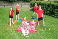 School Sports Day & Obstacle Course Games
