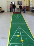 30 foot Outdoor Shuffleboard Poly