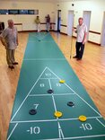 40 foot Indoor Roll-out Shuffleboard