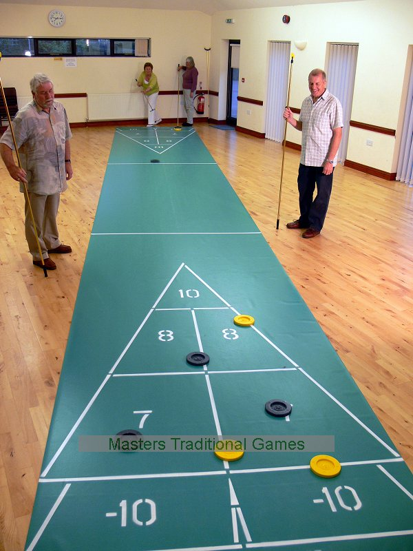 40 Foot Roll Out Shuffleboard Court