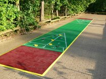 40 foot Outdoor Shuffleboard Poly