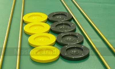 Set of 8 Shuffleboard discs