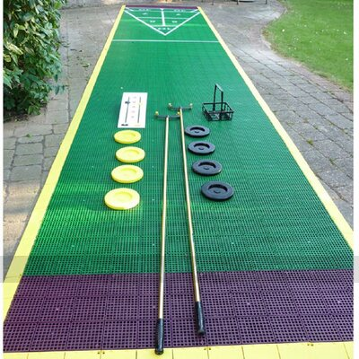 Half Mini Shuffleboard Court Package