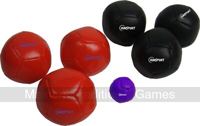 Soft Petanque Set - 6 full size soft boules