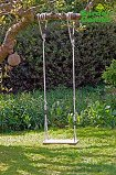 Wooden Tree Swing - 3 metre ropes
