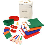 Garden Games Sports Day Party Set - Egg & Spoon, Sack Race & More