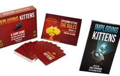 Exploding Kittens with Imploding Kittens Expansion