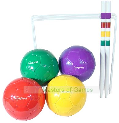 Football Croquet Set