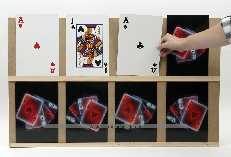 Higher or Lower - Extra Large 'Play Your Cards Right' Game