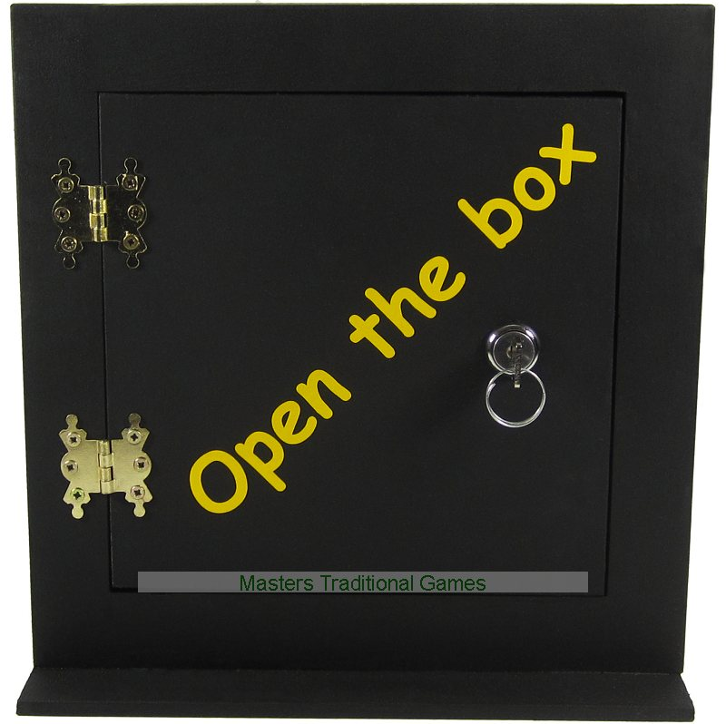 open the box game rules