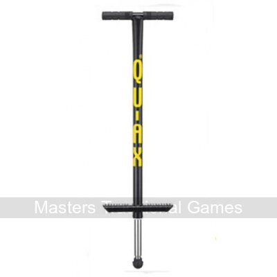 V200 Qu-Ax Adult Pogo Stick (Black)