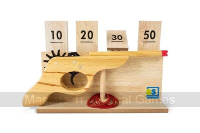Shooting Game - Elastic Band Target Game