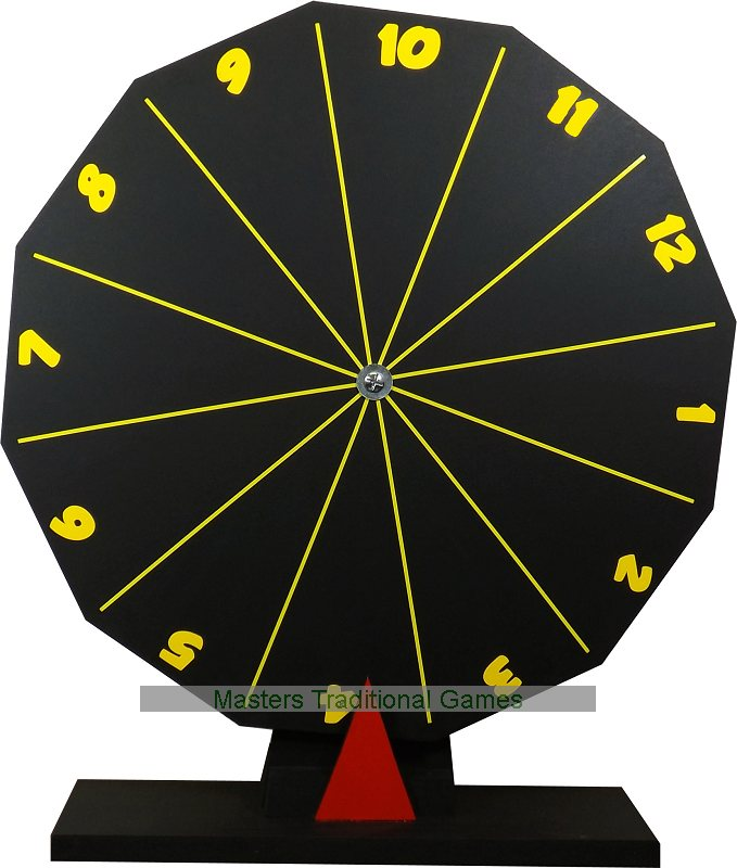 Spin The Wheel Game Prize Wheel