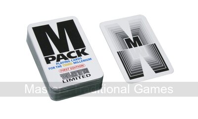 M Pack Playing Cards - for the third millennium