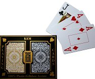 KEM Cards - Standard - Back & Gold Arrow