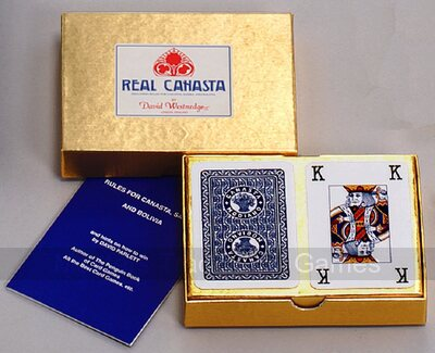David Westnedge Real Canasta Set