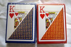 100% plastic playing cards