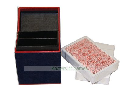 Dal Negro 100% PVC Playing Cards in Hand Made Box