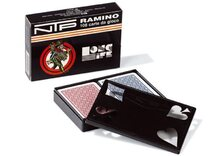 NTP Long Life Ramino Playing Cards - Wide Style, 100% PVC