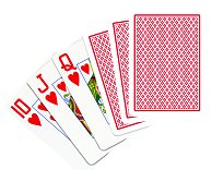 COPAG 100% plastic poker cards (wide, jumbo index)