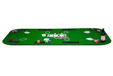 Home Poker Bundle - Table Top & Chips - for up to 8 players