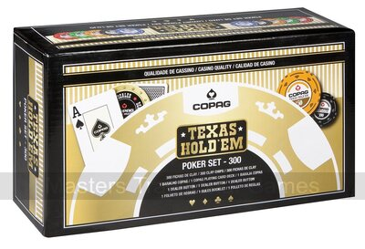 COPAG 300 chip wooden Poker set