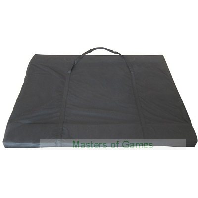 Classic 3 Folding Poker Table Top with Carry Bag (Suited Speed Cloth) � Red (200cm)