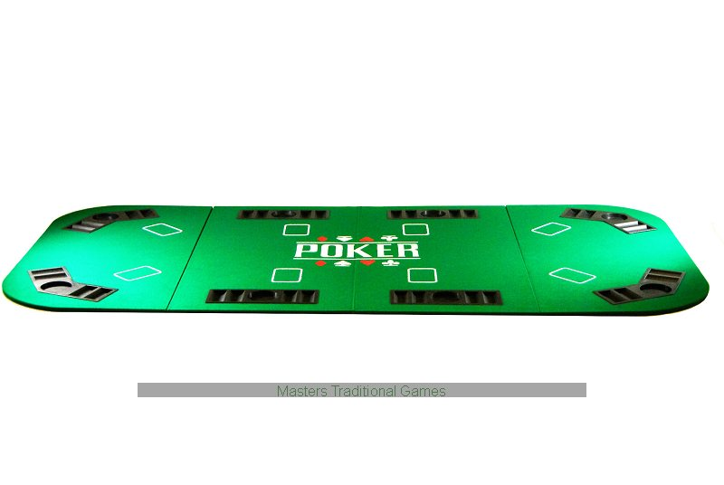 poker table top large amp foldable for up to 8 players