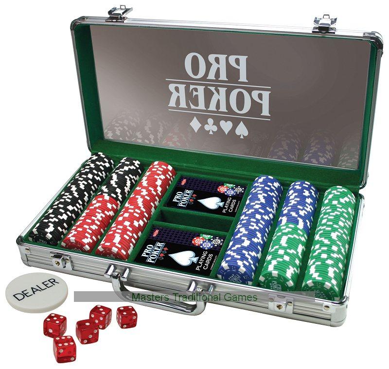 pro poker case 300 chips - Poker Sets