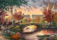 Autumn in New York 1000 piece Jigsaw Puzzle