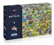 Beautiful Britain 1000 piece Jigsaw Puzzle