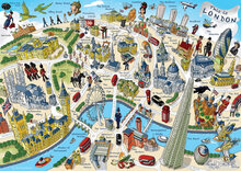 Gibsons This is London 500 piece Jigsaw Puzzle