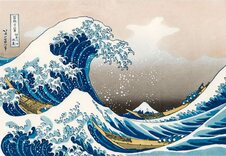 Hokusai The Great Wave 1000 Piece Jigsaw Puzzle
