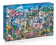 I Love Great Britain 1000 piece Jigsaw Puzzle