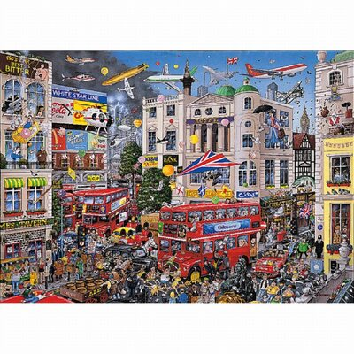 I Love London 1000 piece Jigsaw Puzzle