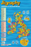 Jigraphy Landmarks of the UK & Ireland Map 150 Piece Jigsaw Puzzle