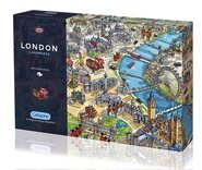 London Landmarks 1000 piece Jigsaw Puzzle
