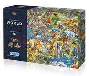 Wonderful World 1000 piece Jigsaw Puzzle