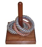 Rope Deck Quoits (Quoits board with 6 quoits)