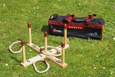 Quoits with Canvas Carry Bag