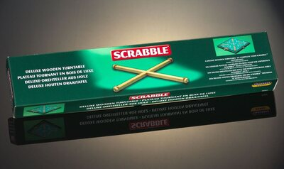 Scrabble Turntable