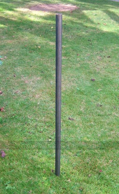 Metal pipe - post for Aunt Sally