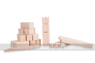 Bex Kubb Original - Rubberwood (Plain topped King)